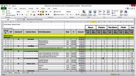 resource forecasting excel template resource forecasting excel template sletemplatess