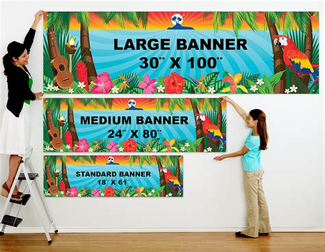 design large banner durable advertising with banner printing