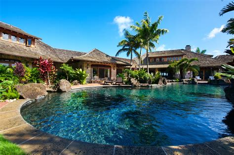 Kauai Vacation Homes At Anini Beach Kilauea Kauai Luxury Home Rentals