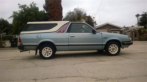 1986 subaru brat 1986 subaru brat gl for sale 1851974 hemmings motor