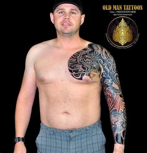 old man tattoos best dallas cowboys studio design gallery