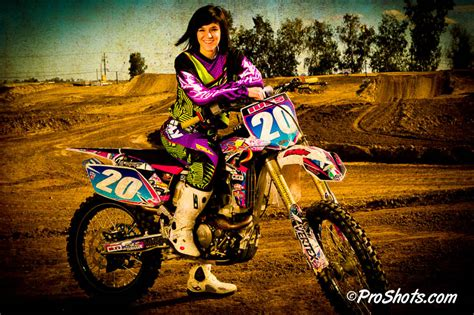 Jackie Ives Pro Women S Motocross Rider Portrait Session