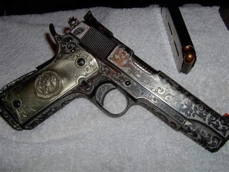 Handmade Gun - beautiful custom springfield armory 1911 springfield