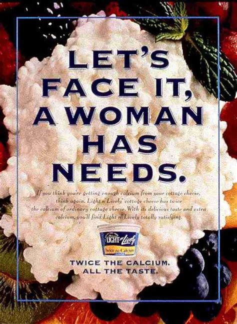 light n lively cottage cheese light n lively cottage cheese quot a has needs quot print ad by y r midwest chicago