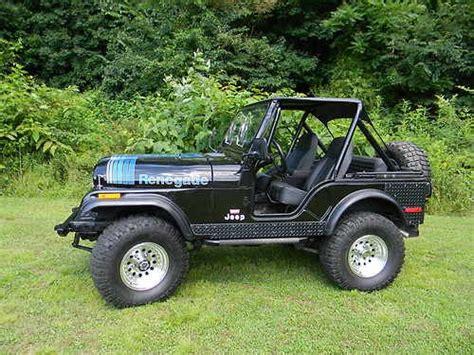 find   jeep cj  renegade levis edition