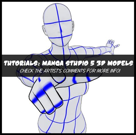 tutorial gambar naruto 3d tutorials manga studio 5 3d models by shrineheart on