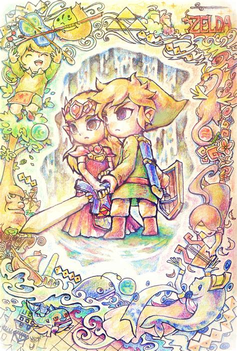 Legend Of Nintendo legend of the wind waker artist nintendo