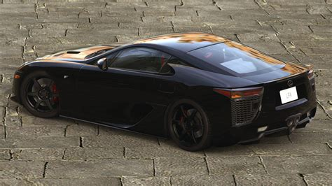 lexus lfa modified 2010 lexus lfa gran turismo 5 by vertualissimo on deviantart