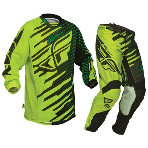 Green Motocross Gear
