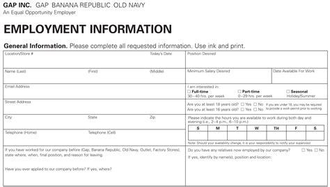navy job application  apply  printable