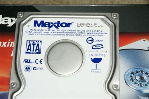 Hdd 200 Gb maxtor 200 gb sata drive 7200 rpm