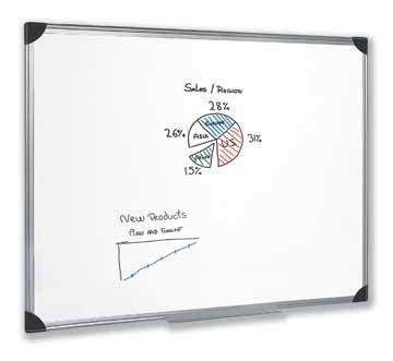 Whiteboard Cipta 90 X 180cm 5star magnetisch witbord 90x180 cm eska office
