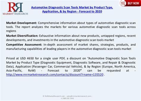 Car Diagnostic Types by 5 6 Cagr For Automotive Diagnostic Scan Tools Market 2020