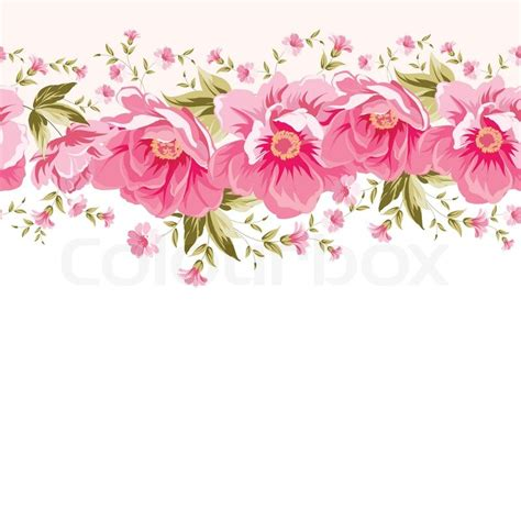 Supplier Baju Floral Blus Hq 1 border of flowers for seamless texture textile design
