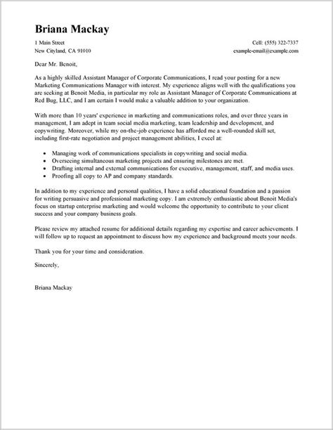 management resume cover letter property manager cover letter sle free cover letter