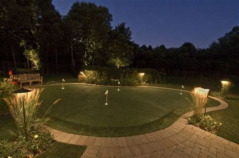 backyard putting green lighting 25 best ideas about backyard putting green on