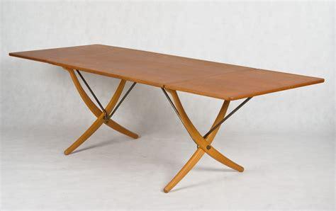 Hans J Wegner designed Dining table model AT 304, made by Andreas Tuck.