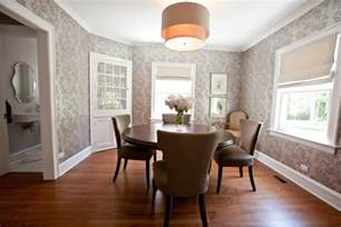 Dining Room Wall Paper by 10 Dining Room Designs With Damask Wallpaper Patterns