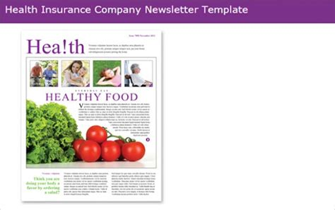 health and wellness newsletter template 70 best newsletter templates 2016 free premium templates