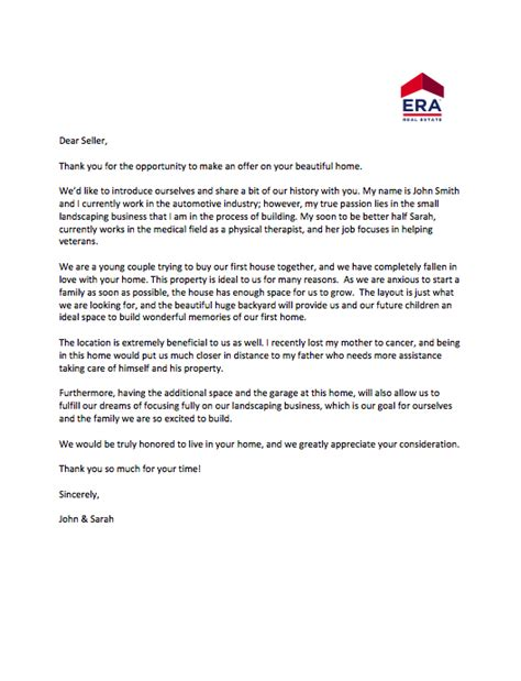 Cover Letter Sler by Hey Home Shoppers Here Are Sle Cover Letters To Win A Bidding War 2017 09 06 Housingwire