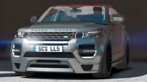land rover hamann hamann land rover range rover evoque add on gta5 mods com