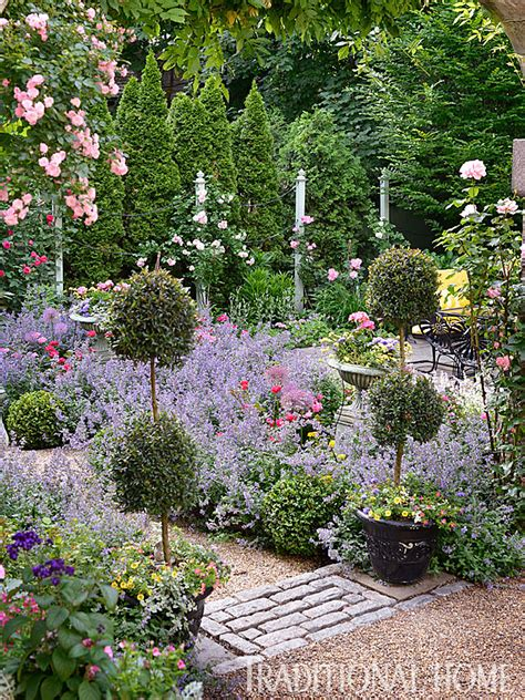english garden before and after enchanting english garden traditional home