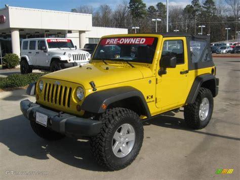 yellow jeep interior 2008 detonator yellow jeep wrangler x 4x4 45331795