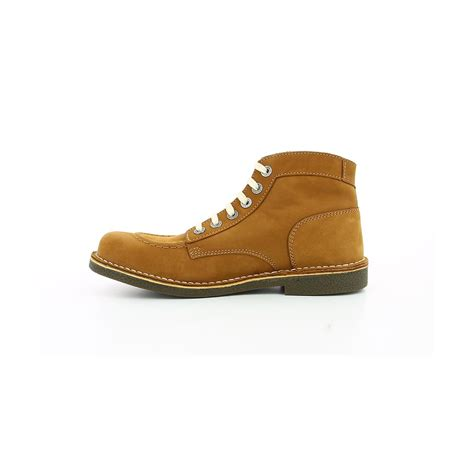 Kickers Boots Camel kickers kickstoner camel boots et bottines homme