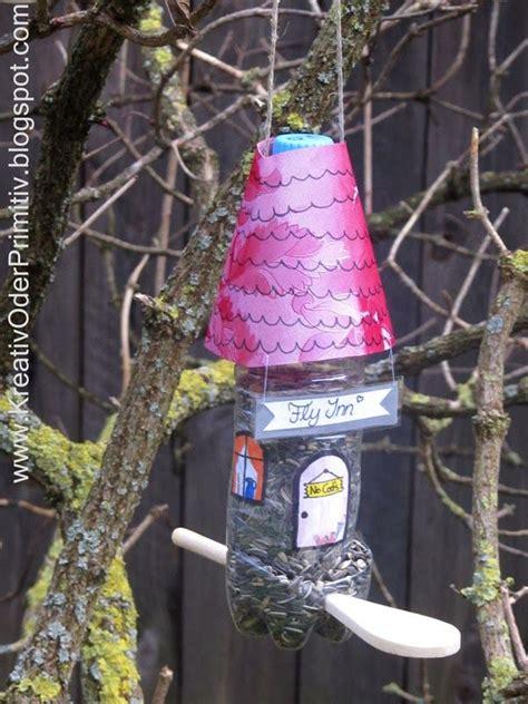 vogelhaus pet plastik flasche recacling upcycling