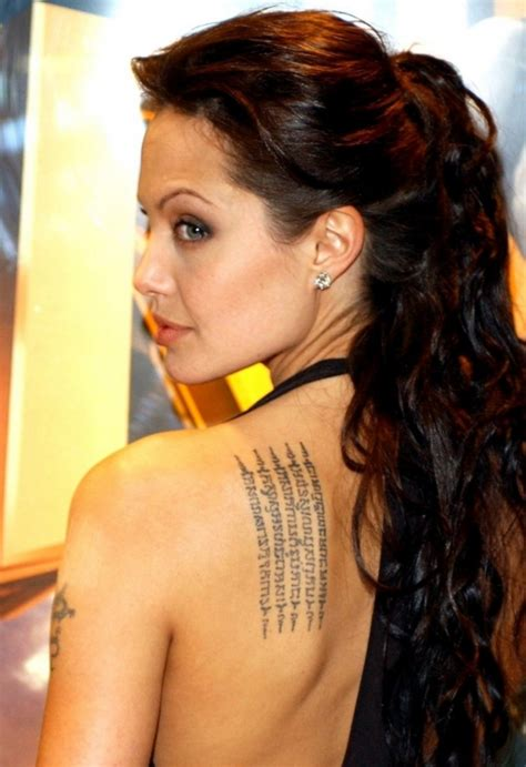 angelina jolie tattoo quote angelina jolie tattoos and their meanings