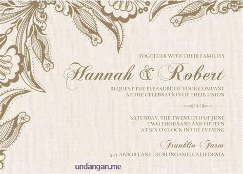 desain undangan pernikahan kristen protestan contoh undangan pernikahan bahasa inggris kristen desain