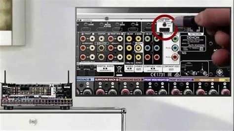 tv audio   denon av receiver