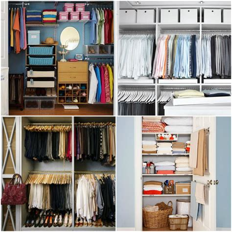 closet organizing functional closet organization ideas for small space