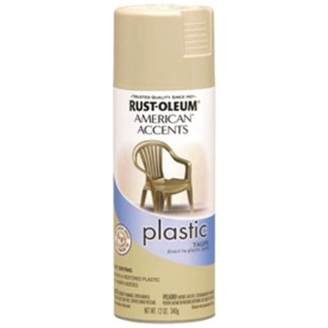 shop rust oleum 12 oz taupe gloss spray paint at lowes