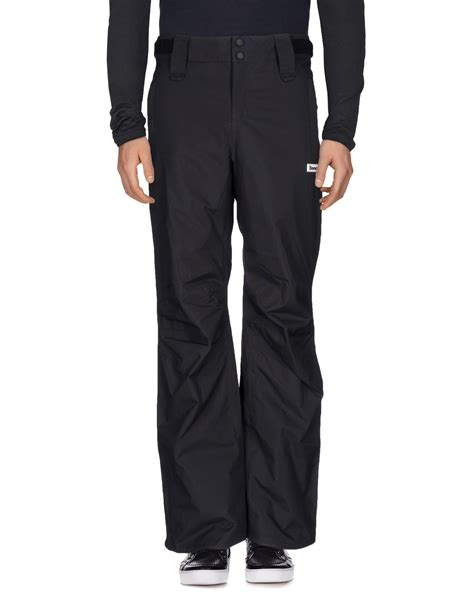bench trousers bench casual pants in black for men lyst