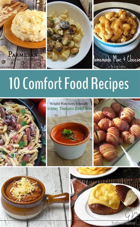 comfort meals 10 comfort food recipes to fuel your body and feed your soul