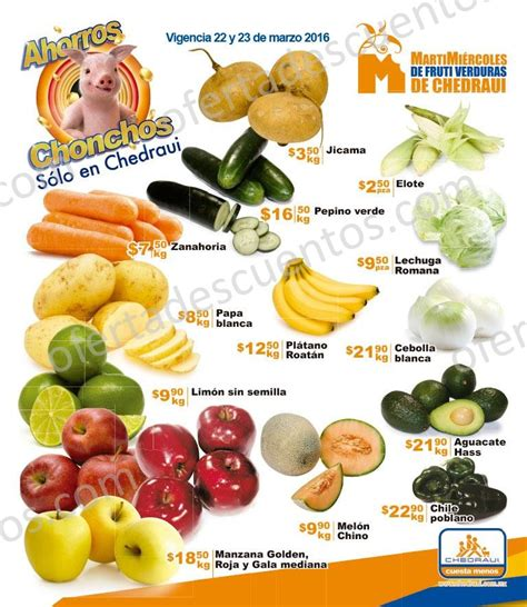 chedraui martes y miercoles de frutas y verduras 13 y 14 de enero chedraui martes y mi 233 rcoles de frutas y verduras 22 y 23