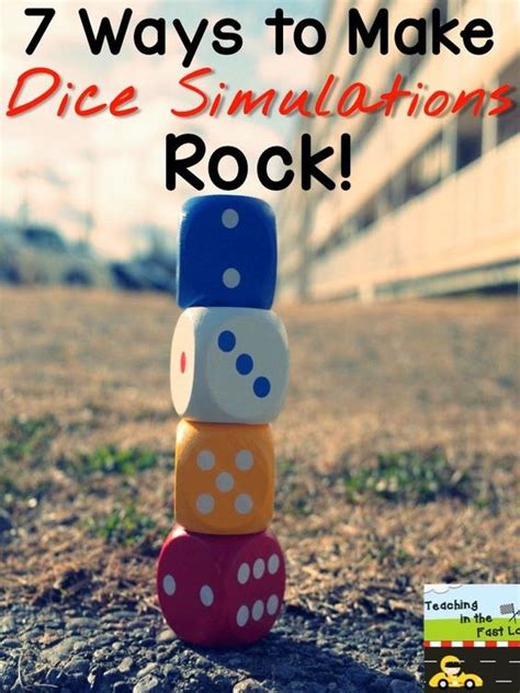 7 Ways To Make A Difference by Dice Make A Difference And Rocks On