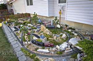 Garden Railroad Layouts Kyle Spradley Photography Hann S Garden Railroad