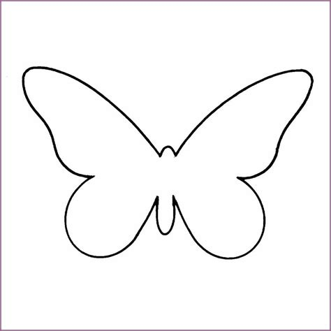 cut out template butterfly template designproposalexle