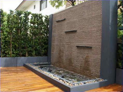 15 Stunning Garden Water Features That Will Leave You Garden Feature Wall Ideas