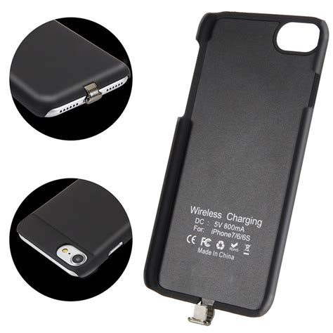 Acc Handphone Softcase Usb Iphone 6 qi wireless charger charging for iphone 6 6s 7 plus receiver cover micro usb mobile phone