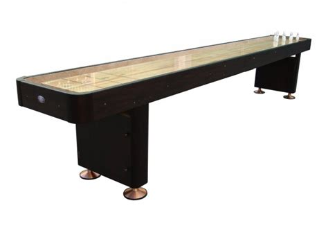 9 espresso playcraft woodbridge shuffleboard table