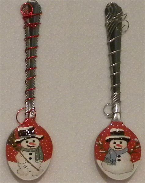 audiz creations christmas hand painted spoon ornaments