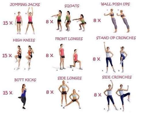Small Home Workouts 25 Best Ideas About Easy Beginner Workouts On