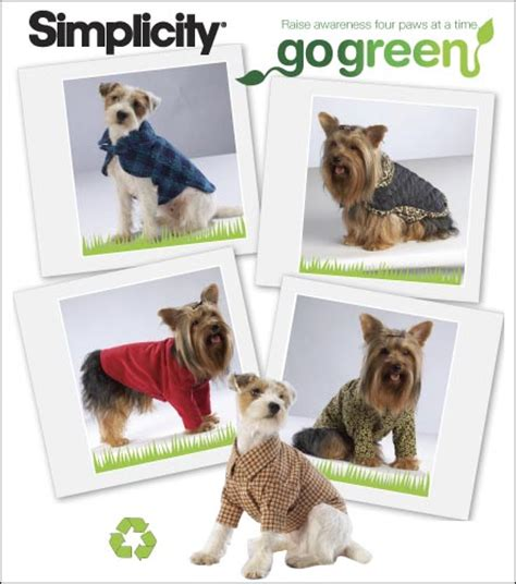 sewing pattern for dog coat simplicity 2695 crafts