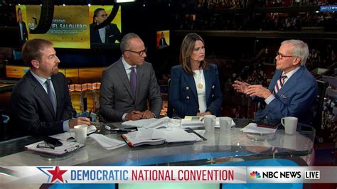 savannah guthrie why not lester holt to replace brian williams did democrats reach republicans at dnc