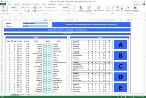 layout excel tabelle fu 223 ball wm 2014 spielplan als excel tabelle