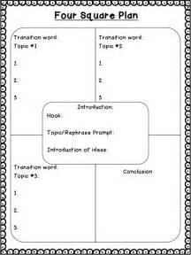 Blank Four Square Writing Template by Four Square Plan Pdf Drive Third Grade Writing