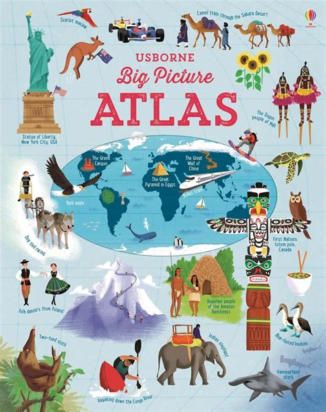 big picture books big picture atlas at usborne children s books